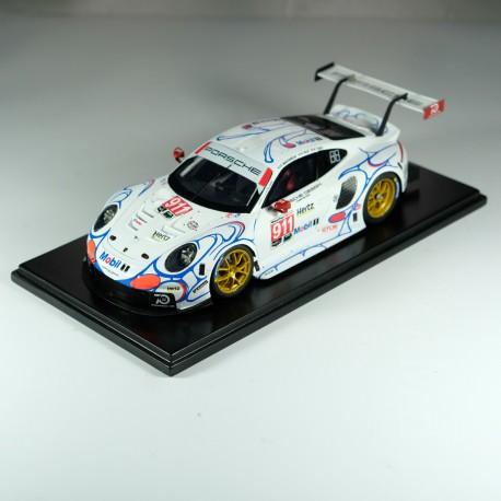 """1/24 Porsche 911 RSR n°911/912 1st GT Pro """"Mobil 1"""" Petit Le Mans 2018 model kit car Profil 24"""