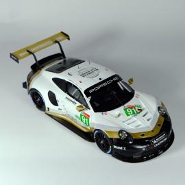1/24 Porsche 911 RSR GT Pro Livrée Or Le Mans 2019, kit maquette Profil 24