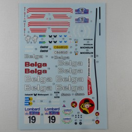 1/24 decal MG Metro 6R4 Belga RAC 1986, Profil 24