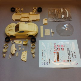 1/24 Porsche 911 RSR GT Pro Gold Le Mans 2019, model kit car Profil 24