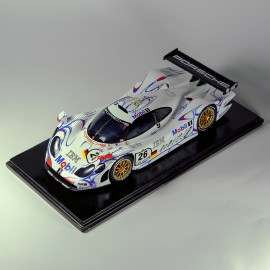 "1/24 Porsche 911 GT1 ""Mobil 1"" 1st Le Mans 1998 model kit car by Profil 24"