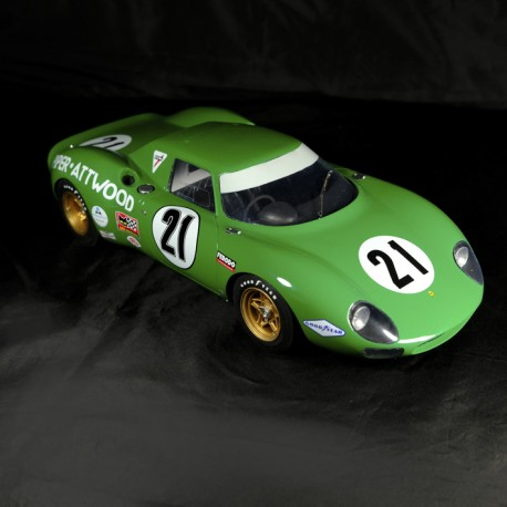 1/12 Ferrari 250 LM Le Mans 1968 n°21 Profil 24 models Model kit car