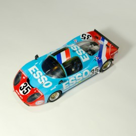 1/24 Moynet Simca  LM 75 Le Mans 1975 n° 35 kit, Profil 24