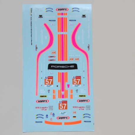 1/24 Decal Porsche 911 RSR Wynn's Le Mans 2020