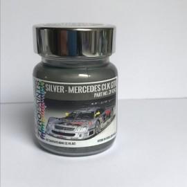 Peinture Grs Metalisé Mercedes CLR Le Mans 1999, 60 ml, Profil 24