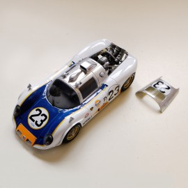 1/24 Howmet TX Le Mans 1968 n°22/24, Profil 24