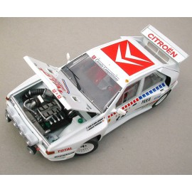 Citroën BX 4TC Monte Carlo 1986, 1/24 kit