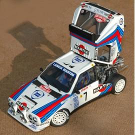 1/24 Lancia Delta S4 Gr B Monte Carlo/Tour de Corse 1986 model kit car Profil 24