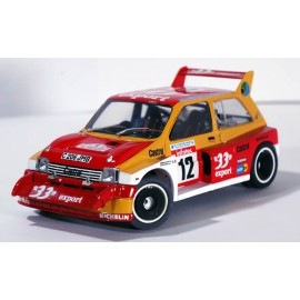 "1/24 MG Metro 6R4 Tour de Corse 1986 ""33 export"" maquette kit Profil 24"