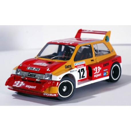 "MG Metro 6R4 Tour de Corse ""33 export"""