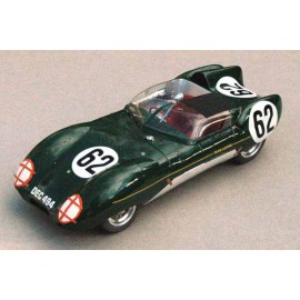 1:24 Lotus XI Le Mans 1957 n°41/42/62 model kit car