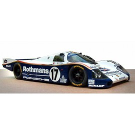 1:24 Porsche 962 C Rothmans Le Mans 1987 model kit car Profil 24