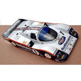 1:24 Porsche 962 C Rothmans Le Mans 1986 model kit car profil 24