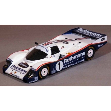 1/24 Porsche 962 C Rothmans Le Mans 1985 model kit car profil 24