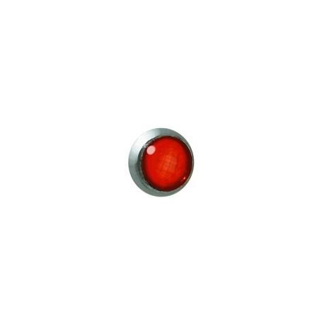 4 phares arrière contour rouge, diamètre 2