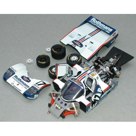1/43 Porsche 962 C Rothmans Le Mans 1987 model kit car Profil 24