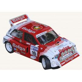 1/24 MG Metro Belga RAC 1986 model kit car Profil 24