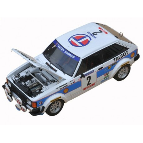1/24 Talbot Sunbeam Lotus 1981 model kit car Profil 24