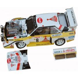 Audi S1 n°2 & 6 Monte Carlo 1986