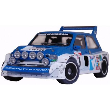 MG Metro 6R4 Gp B Computervision Tour de Corse 1986