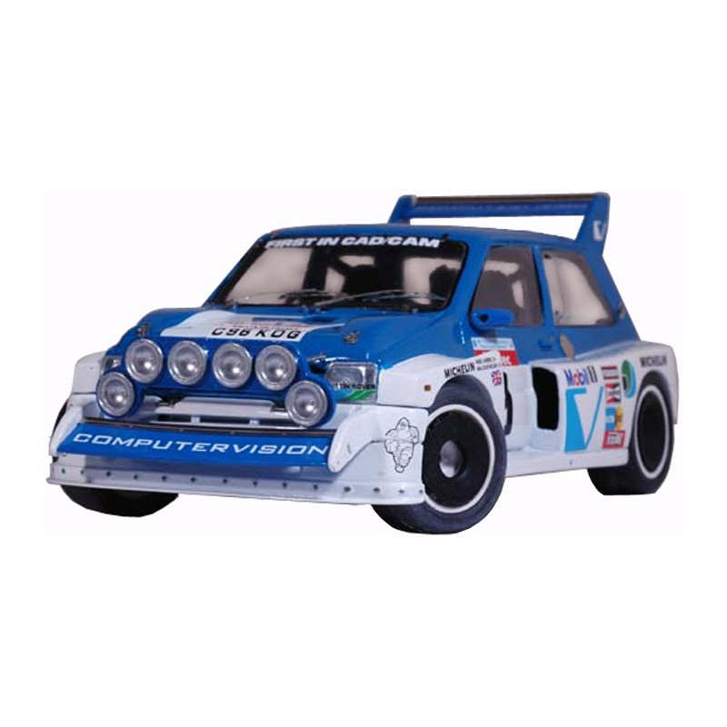 MG Metro 6R4 Gp B Computervision Tour de Corse 1986, 1/24 kit ...