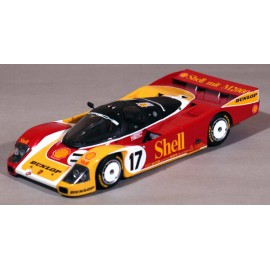 1/43 Porsche 962 C Shell Dunlop Le Mans 1988 model kit car Profil 24