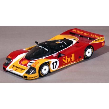 1/43 Porsche 962 C Shell Dunlop Le Mans 1988 model kit car Profil 24