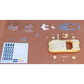 Slot kit 1/24 Lotus XI Le Mans 1957 n°41/42/62, with chassis