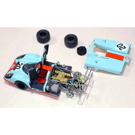 1/43 Porsche 917 K Gulf Le Mans 1970 model kit car Profil 24