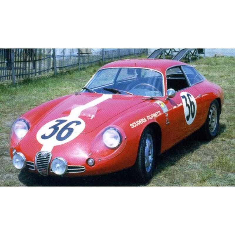 1 24 kit alfa romeo giulietta sz le mans 1963 n 36 profil 24 models profil24 models. Black Bedroom Furniture Sets. Home Design Ideas