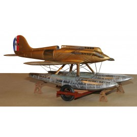 1/24 Gloster 6 Racer Coupe Schneider 1929 maquette avion Profil 24