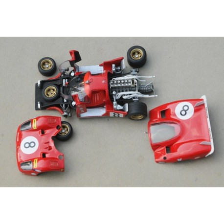 1/43 Ferrari 512 S Le Mans 1970 n°5 model kit car Profil 24