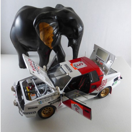 1:24 Toyota Celica Twin Cam Turbo Group B Safari Rally 1984/1985/1986 model kit car Profil 24