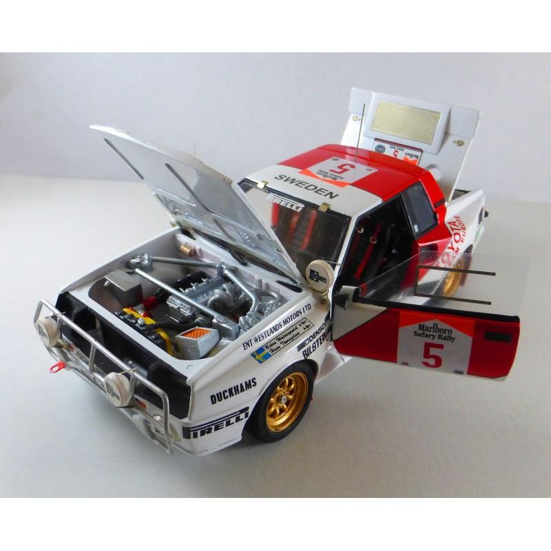 Toyota 86 Turbo >> 1984/1985/1986 Toyota Celica Safari Rally model