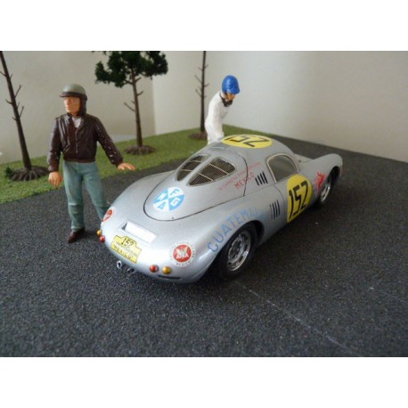 Slot kit 1/24 Porsche 550 Panamericana 1953 avec chassis, profil 24