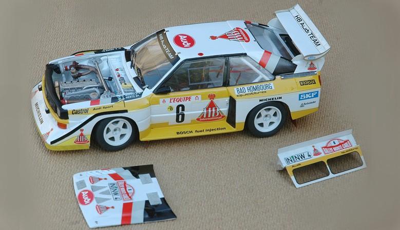 Audi Quattro S1 Monte Carlo 1986
