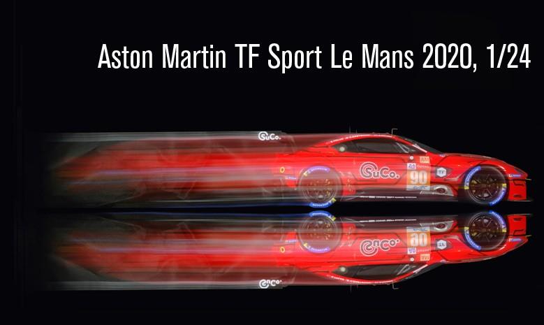 Aston Martin TF Sport Le Mans 2020