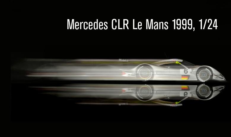 Mercedes CLR Le Mans 1999
