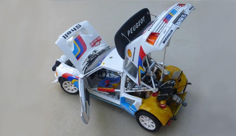 Peugeot 205 Turbo 16 Evo 2 MC & TC 1986
