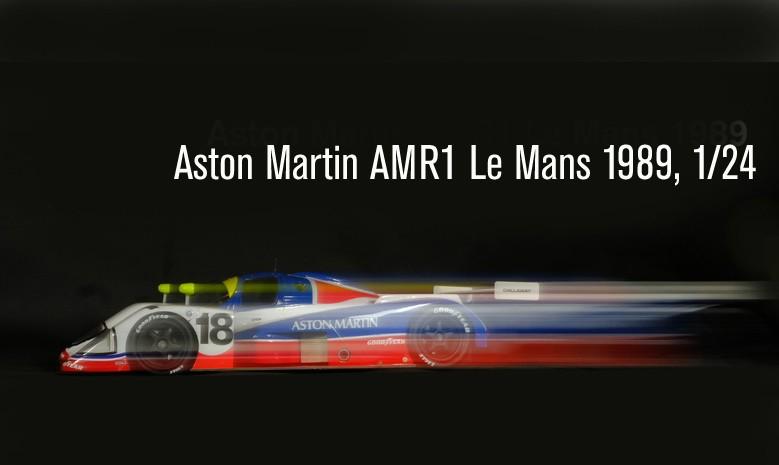 Aston Martin AMR1 Le Mans 1989