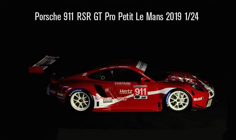 Porsche 911 RSR GT Pro Coca Cola Le Mans 2019