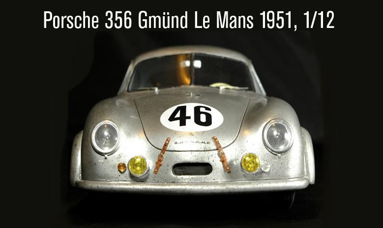 Porche 356 Le Mans 1951