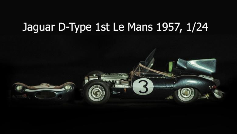 Jaguar D-Type Le Mans 1957