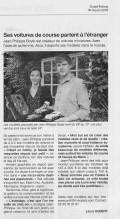 Profil 24 in the newspaper : Ouest France