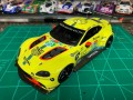 1/24 Aston Martin GTE Le Mans 2018/2019 by Mark Hudspeth, USA, model kit car Profil 24