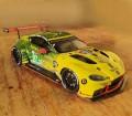 1/24 Aston Martin Vantage Le Mans 2020 par Giuseppe Testoni Italie, maquette Profil 24 models
